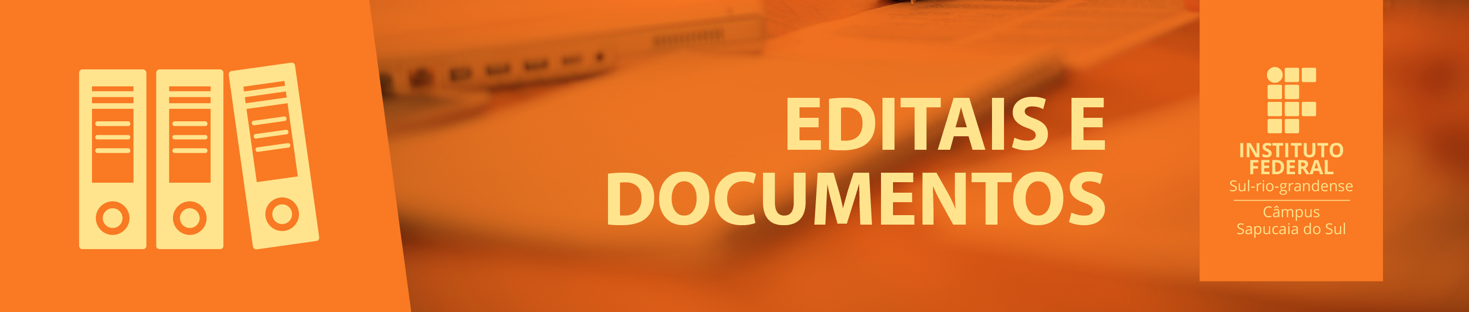 Editais & Documentos